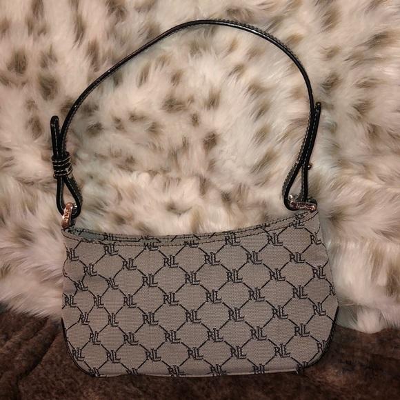Lauren Ralph Lauren Handbags - Black Ralph Lauren signature handbag